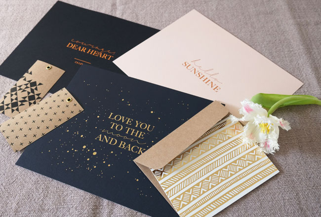 Seven Swans Stationery