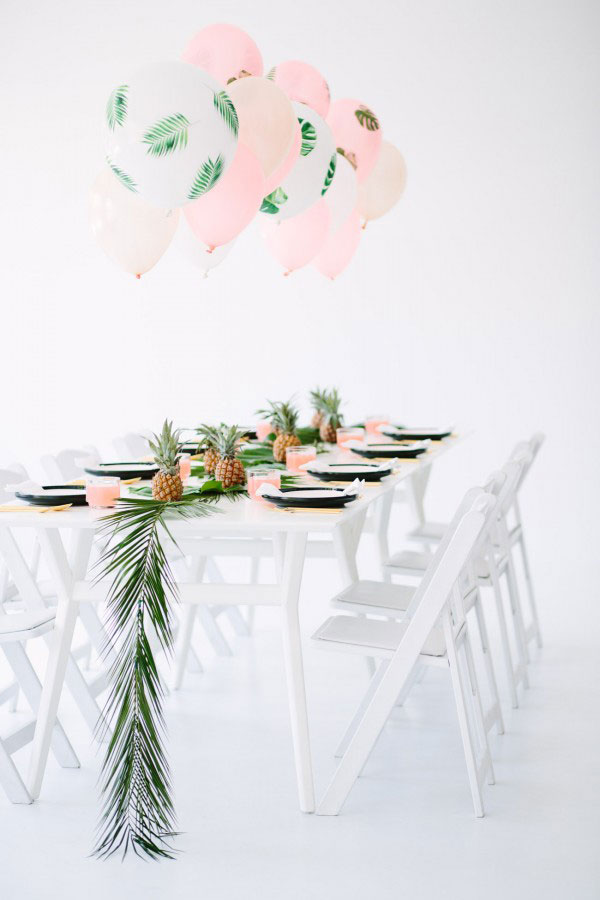 Tropical Dinner Party