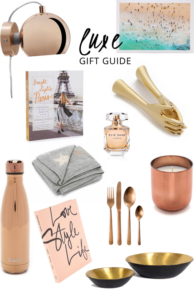 Luxe gift guide