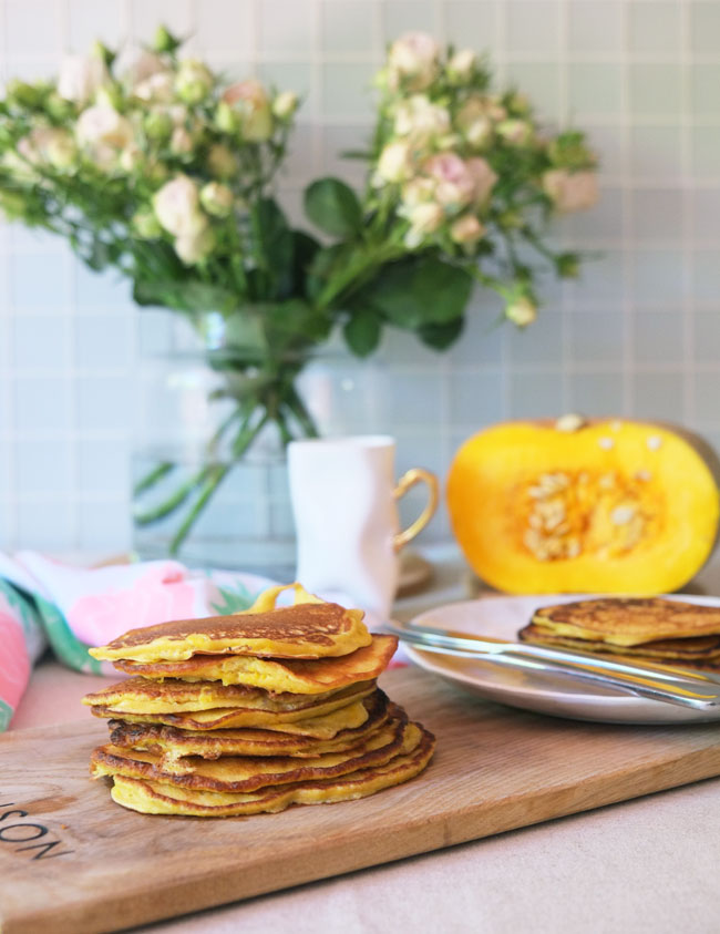 Pumpkin flapjacks