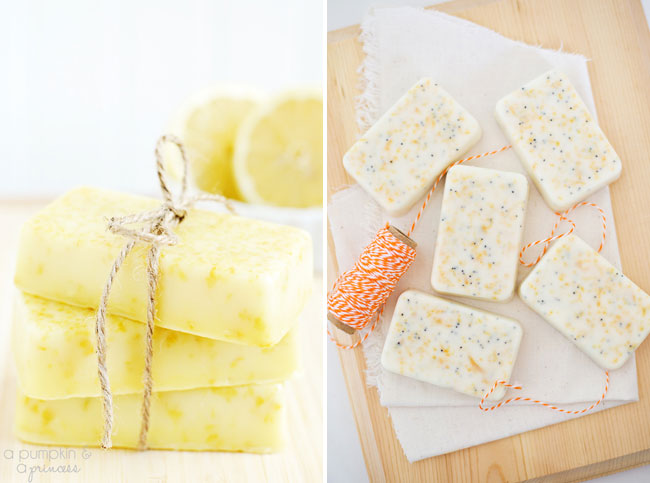 Homemade Citrus Soap Tutorial