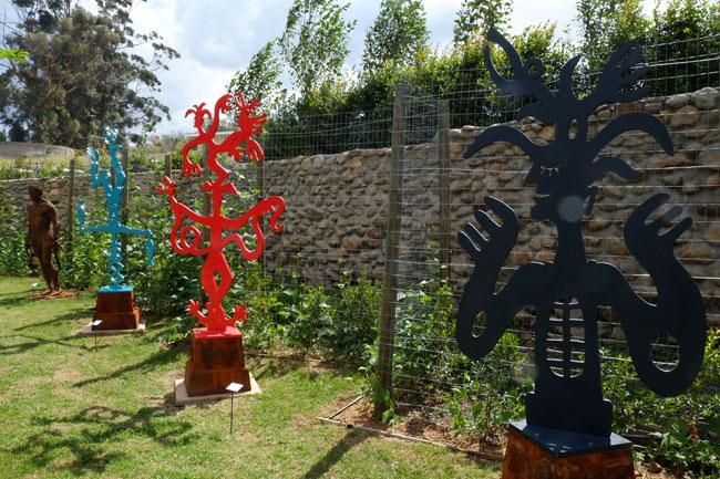 Gregg Price sculptures