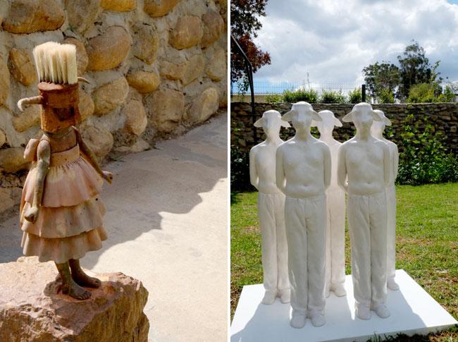 Sculpture garden, Robertson
