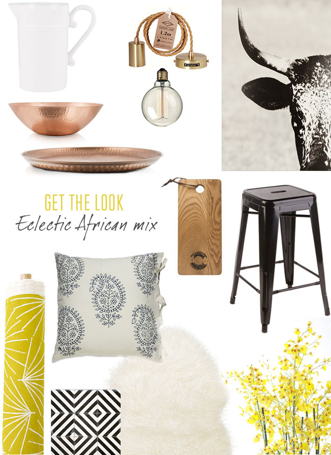 Eclectic African mix