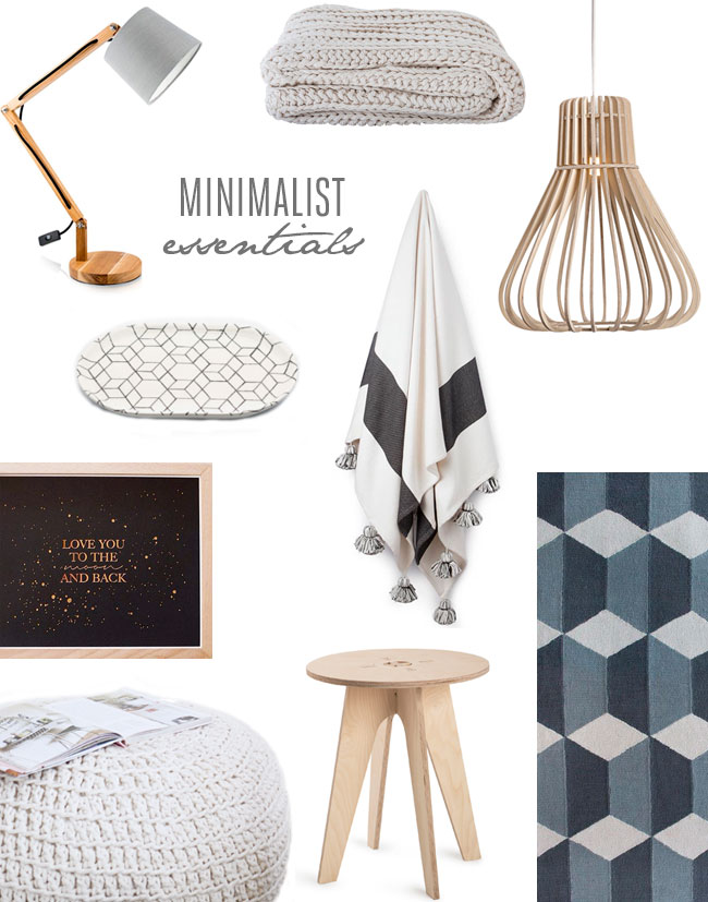 minimalist essentials for your home this winter lanalou