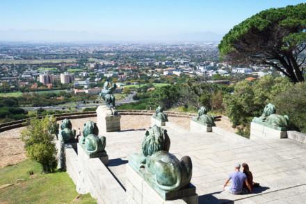 Rhodes Memorial steps