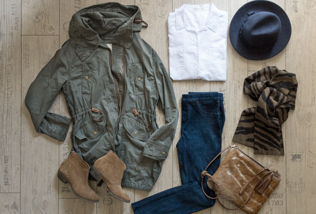 weekend military: get the look