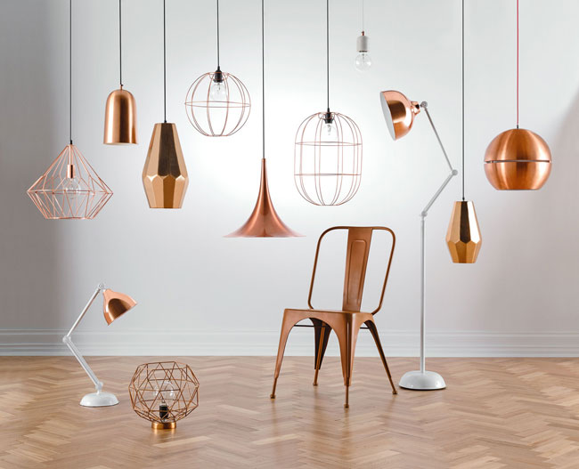 Copper Lighting Get The Look