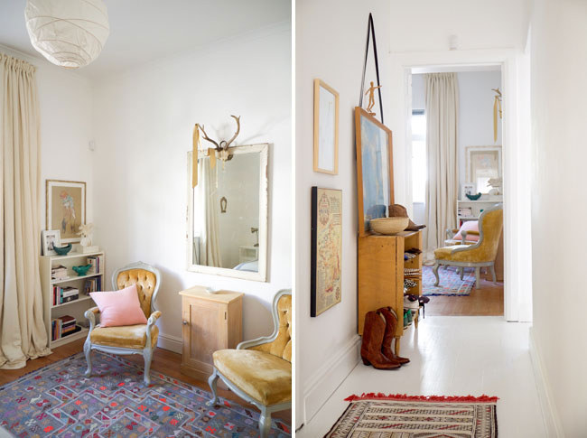 Eclectic colourful house tour