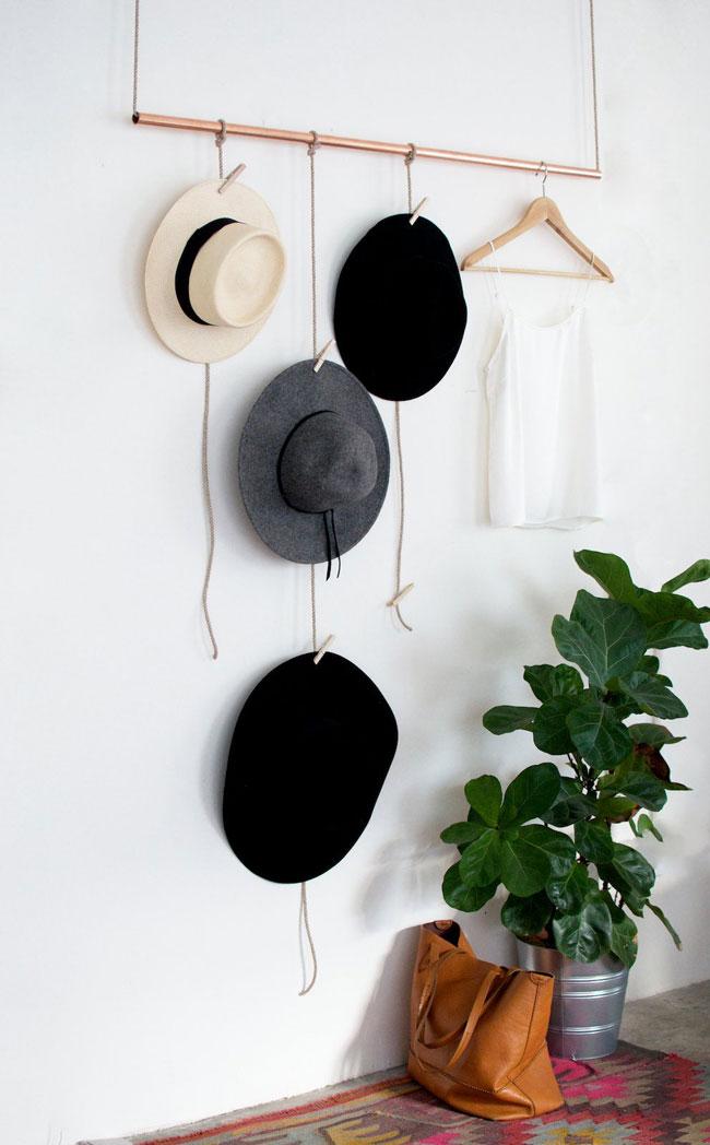 hats on display