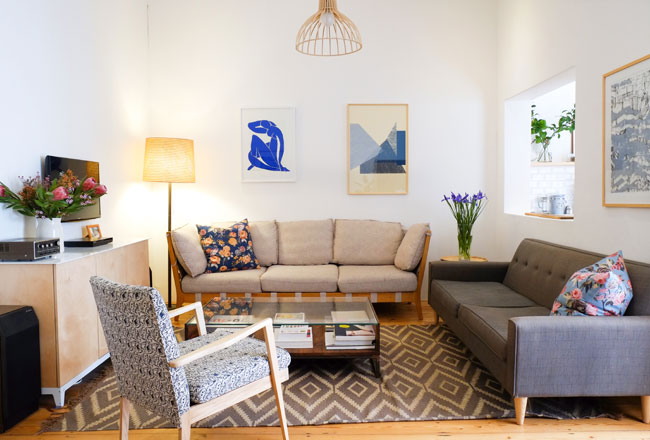 Scandi house tour