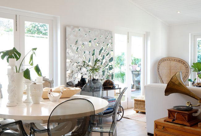 Fresh interior with an African twist
