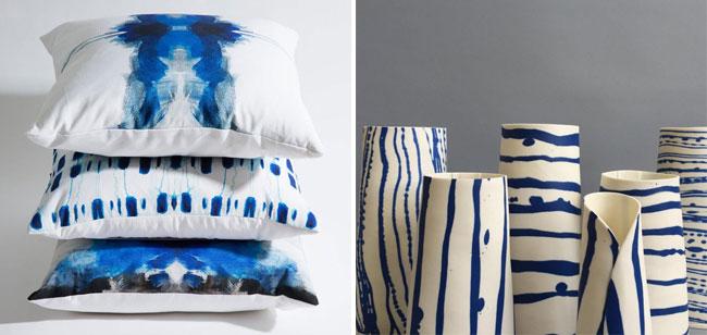 Odette Uys scatters & Lisa Firer vases