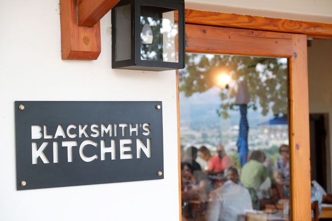 Blacksmith Kitchen Paarl Menu