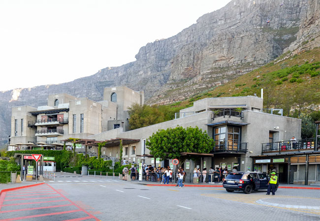 Cable Car Station Table Mountain