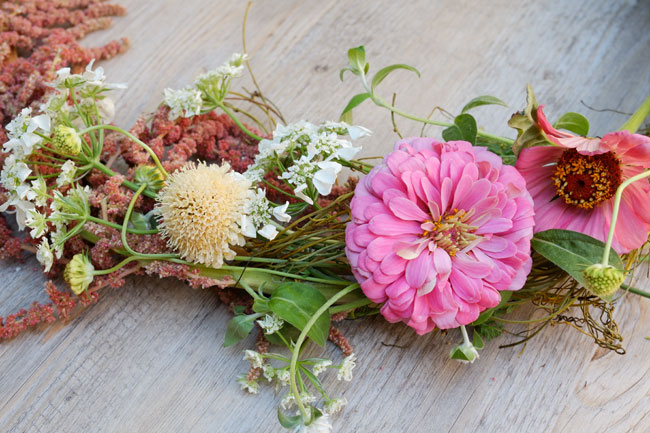 New Year Floral Wreath