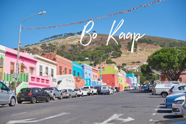 Bo Kaap Scenery