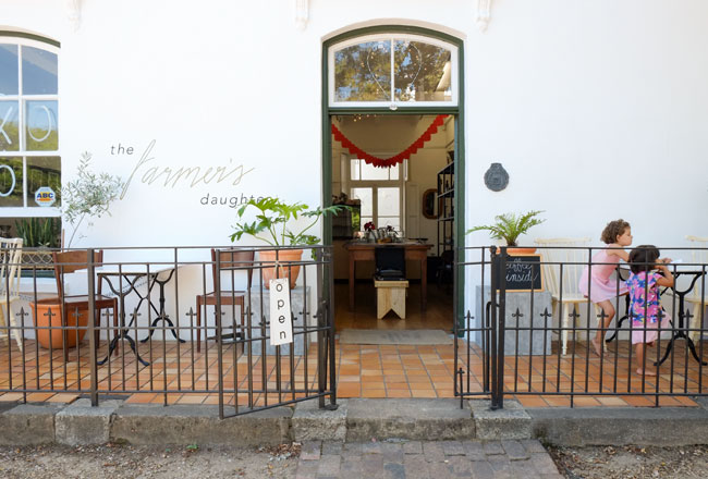 The Farmers Daughter, Stellenbosch