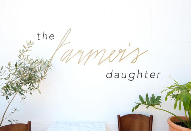 The Farmer's Daughter, Stellenbosch