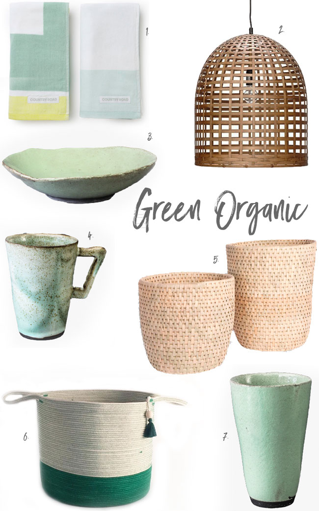 Green Organic-get the look