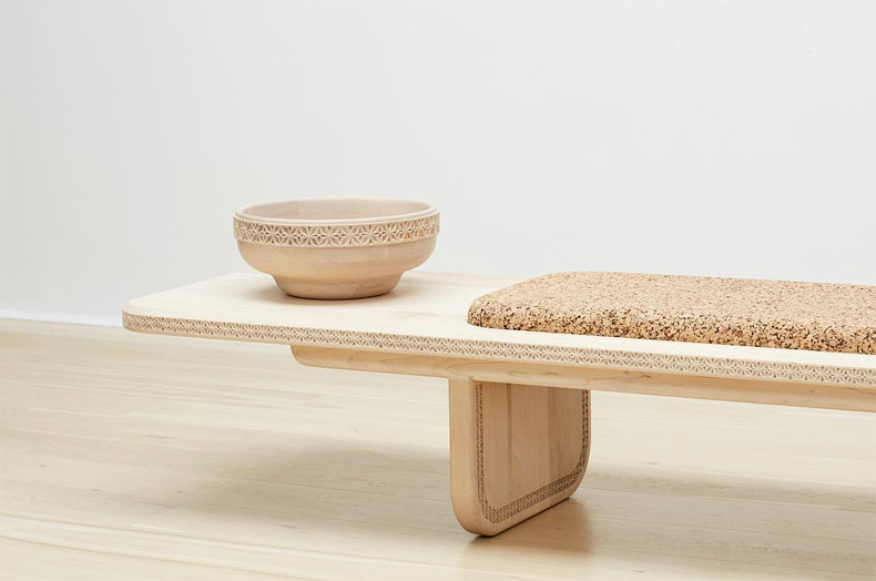 Beauty of woo - Wiid Wooden bench