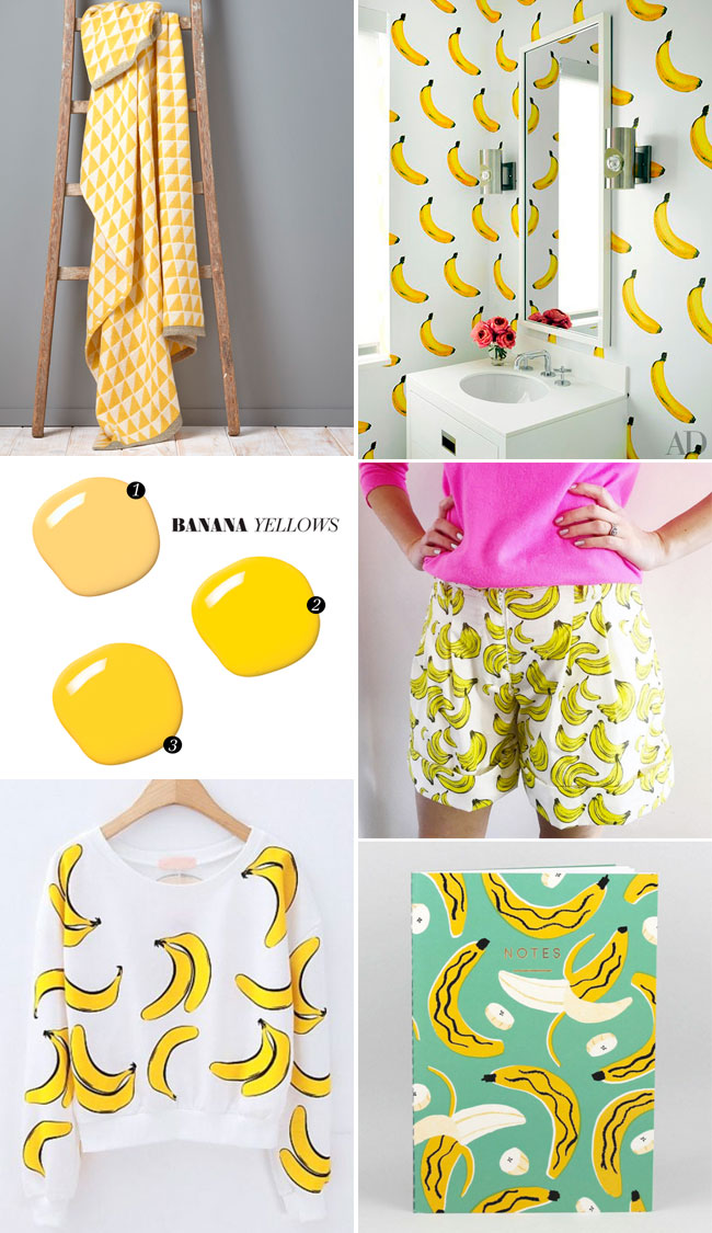 Banana yellows