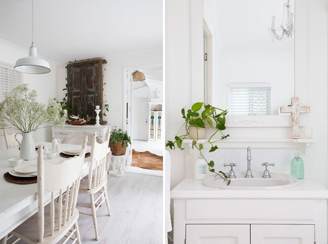 White natural Boho home