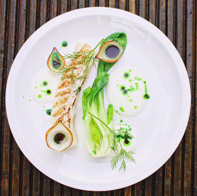 The Art Of Plating - Nathan Snoddon