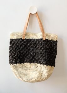 Raffia natural bag