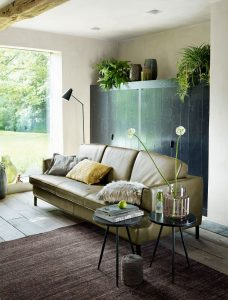 Green inspired interior