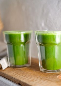Freshly pressed Green Juices