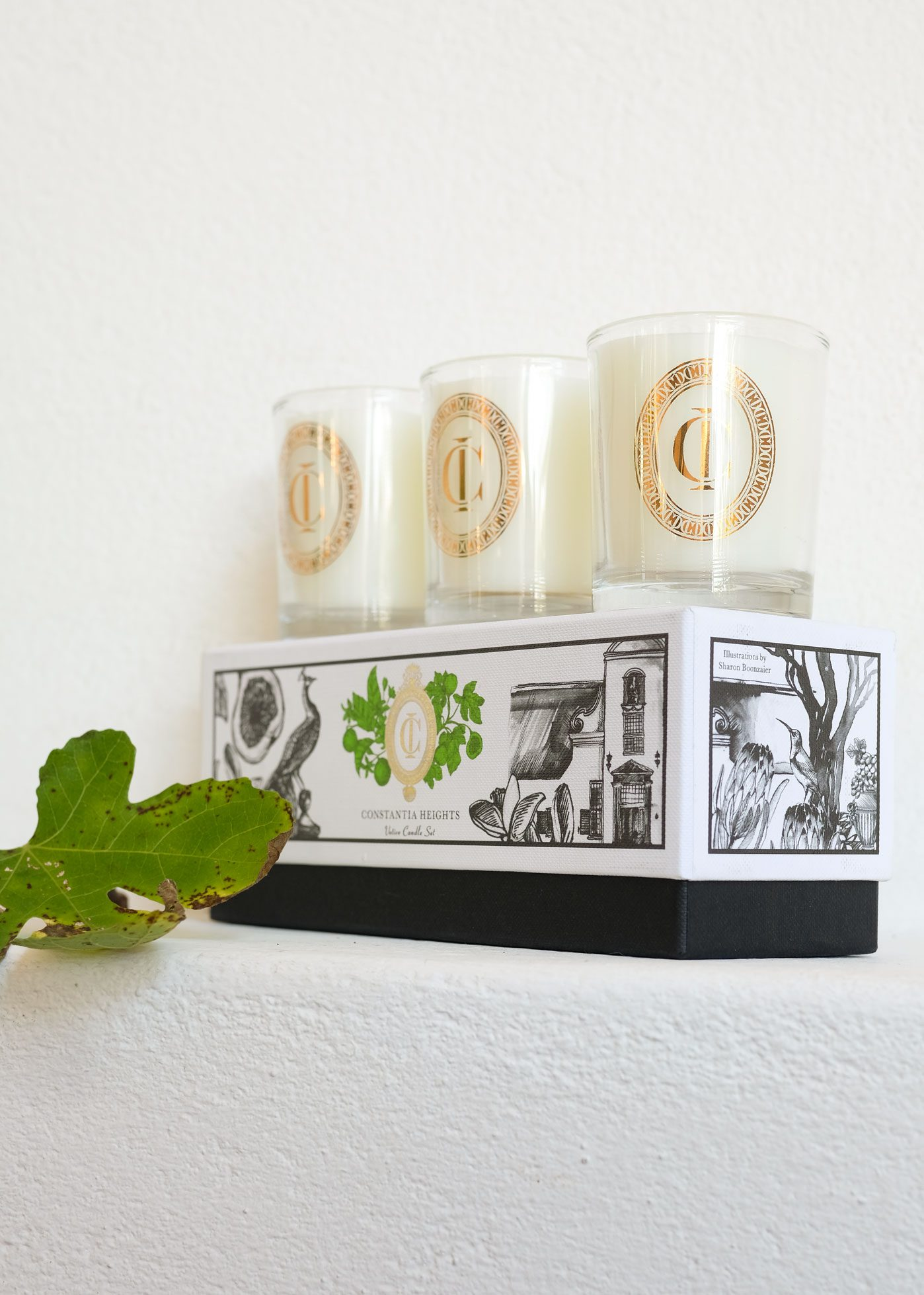 Constantia Heights votive set